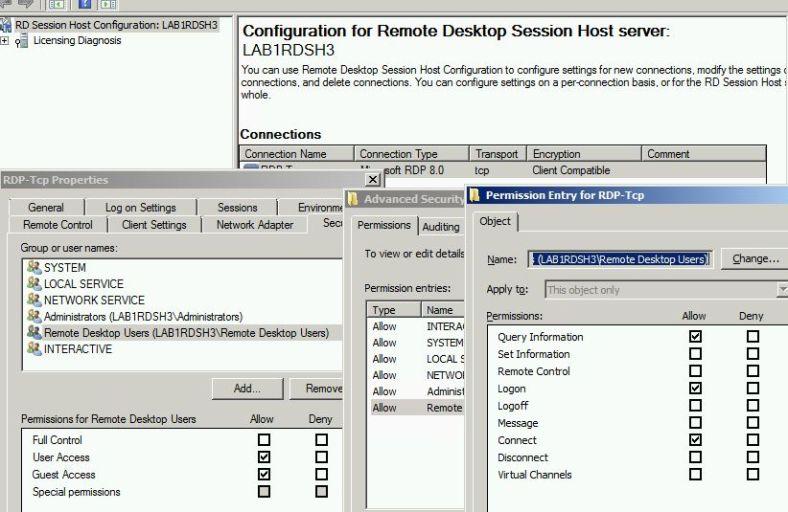 "Delegate ""logoff"" permission RDS 2012 | idefixwiki"